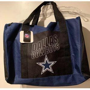 Handbags - Licensed Dallas Cowboys Tote/ Duffle Bag